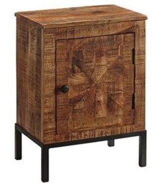 ASHLEY B013-991 N/S END TABLE CHARLOWE MANGO WOOD