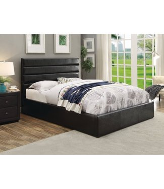 COASTER 300469F 4/6 BED STORAGE RIVERBEND BLACK