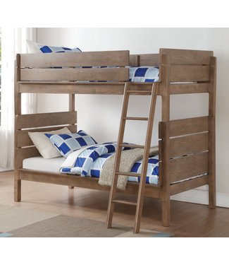 ACME RANTA BUNK BED IN ANTIQUE OAK FINISH