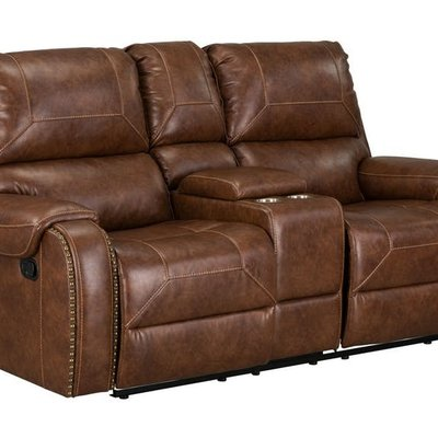 STANDARD 4229423 LOVESEAT 2 RECLINER WINSLOW BROWN