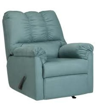 ASHLEY DARCY ROCKER RECLINER IN SKY