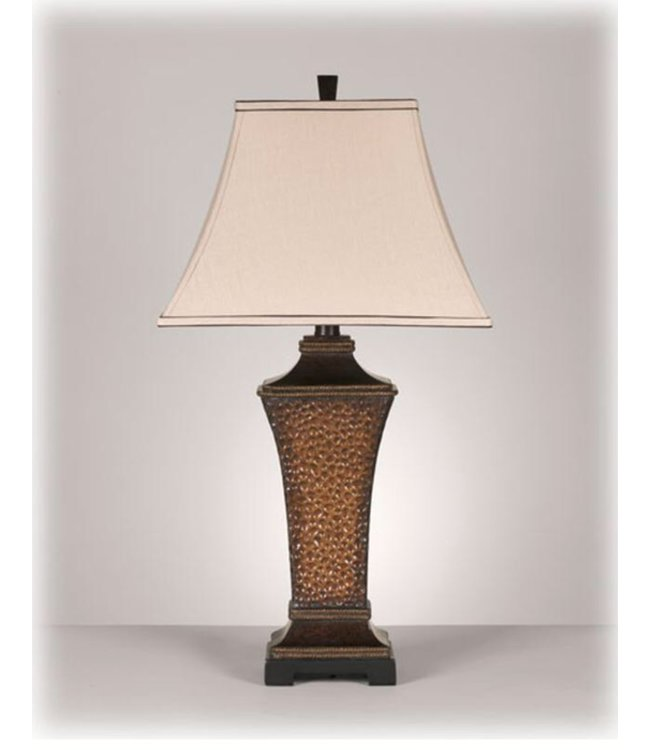 ASHLEY TABLE LAMP ORENE ANTIQUE COPPER FINISH