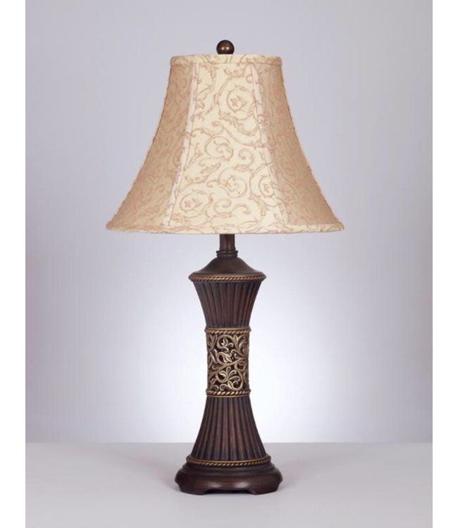 ASHLEY MARIANA TABLE LAMP IN BRONZE RESIN