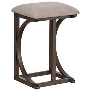 10152E FOLDING BAR TABLE/2 STOOL SET AMBERLEIGH BROWN