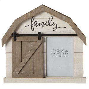 163930 FAMILY BARN 5X7 FRAME