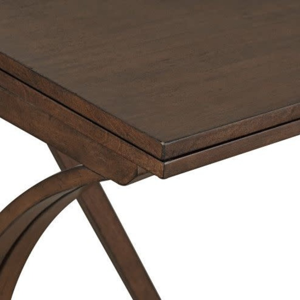 STANDARD 10142E FOLDING TABLE & 2 STOOLS BRENTWOOD