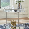 A4000120 BAR CART KADINBURG SILVER
