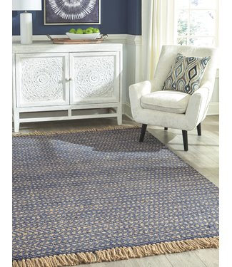 ASHLEY R403292 RUG MAVIS NAVY 5X8