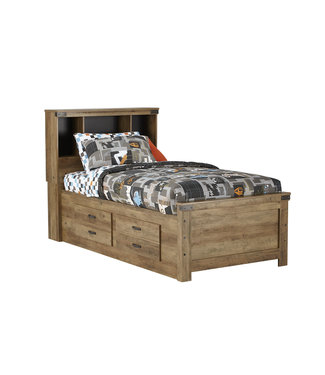 STANDARD 52413/23/30/43 3/3 BOOKCASE STORAGE BED WARREN
