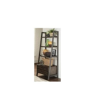 COASTER BOOKCASE LADDER SHELF DEPONTE COGNAC