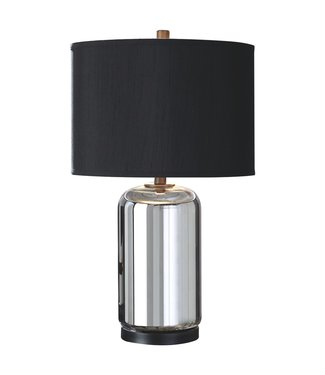 ASHLEY L430634 TABLE LAMP MIRINDA SILVER GLASS