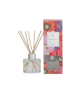 GREENLEAF GIFTS GLG975533 SIGNATURE REED DIFFUSER PAINTED POPPY