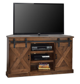 "LEGENDS FH1312-AWY CORNER TV CONSOLE 56"" AGED WHISKEY"