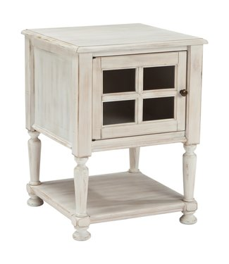 ASHLEY T505-102 CHAIR SIDE END TABLE