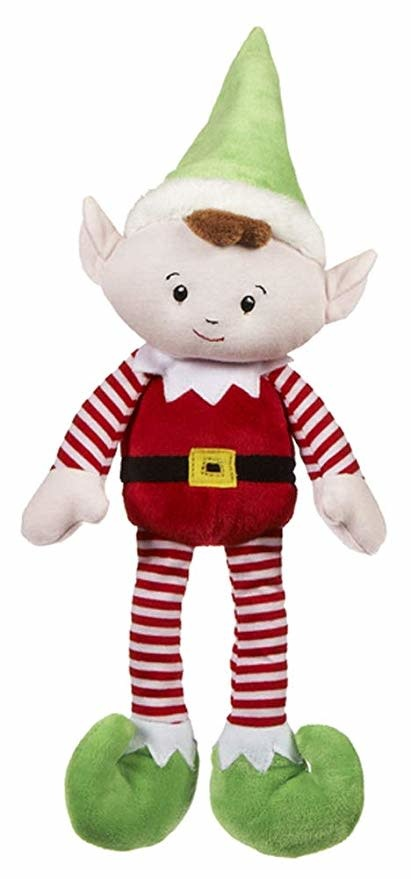 BGX11492 ELF PLUSH RATTLE