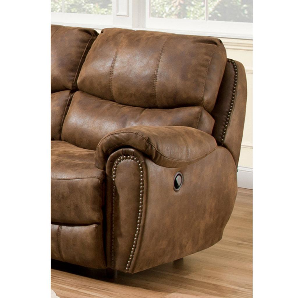 Fantastic Franklin 41542 8337 15 Sofa 2 Recliner Richmond Walnut Ncnpc Chair Design For Home Ncnpcorg