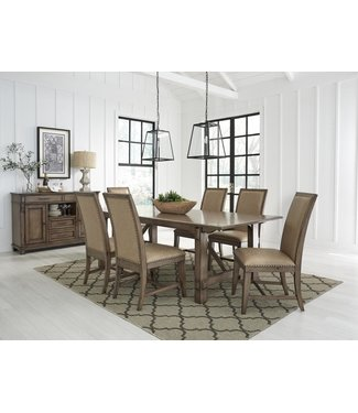 "STANDARD DINING TABLE W/ 18"" LEAF ASPEN"
