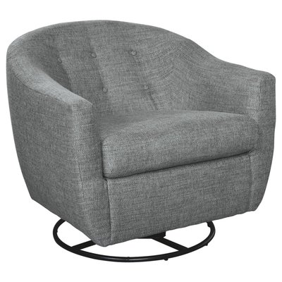 ASHLEY 2030442 SWIVEL ACCENT CHAIR MANDON RIVER
