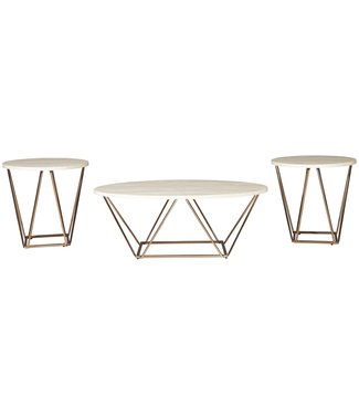 ASHLEY T385-13 OCCASIONAL TABLE SET 3 PC TARICA