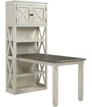 ASHLEY H647-14/17 BOOKCASE DESK BOLANBURG