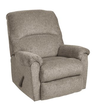 ASHLEY BALLINASLOE ROCKER RECLINER PLATINUM