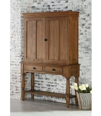 MAGNOLIA HOMES 2010128/9 TAPER CUPBOARD HUTCH/CONSOLE BENCH FINISH