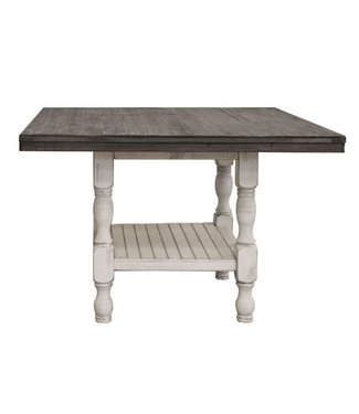 IFD 4681CTB TABLE COUNTER HEIGHT STONE WHITE