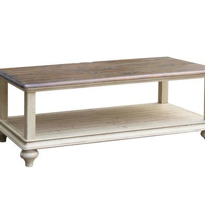 COTTAGE CREEK 2390-0490 COCKTAIL TABLE BROCKTON 2-TONE