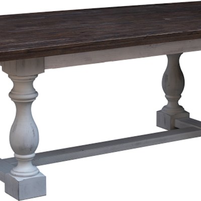 COTTAGE CREEK 7036/37-9091 DINING TABLE SUMMER LAKES TWO-TONE