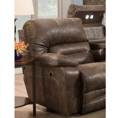 FRANKLIN 50044-8337-12 SOFA 2 RECLINER LEGACY CHOCOLATE