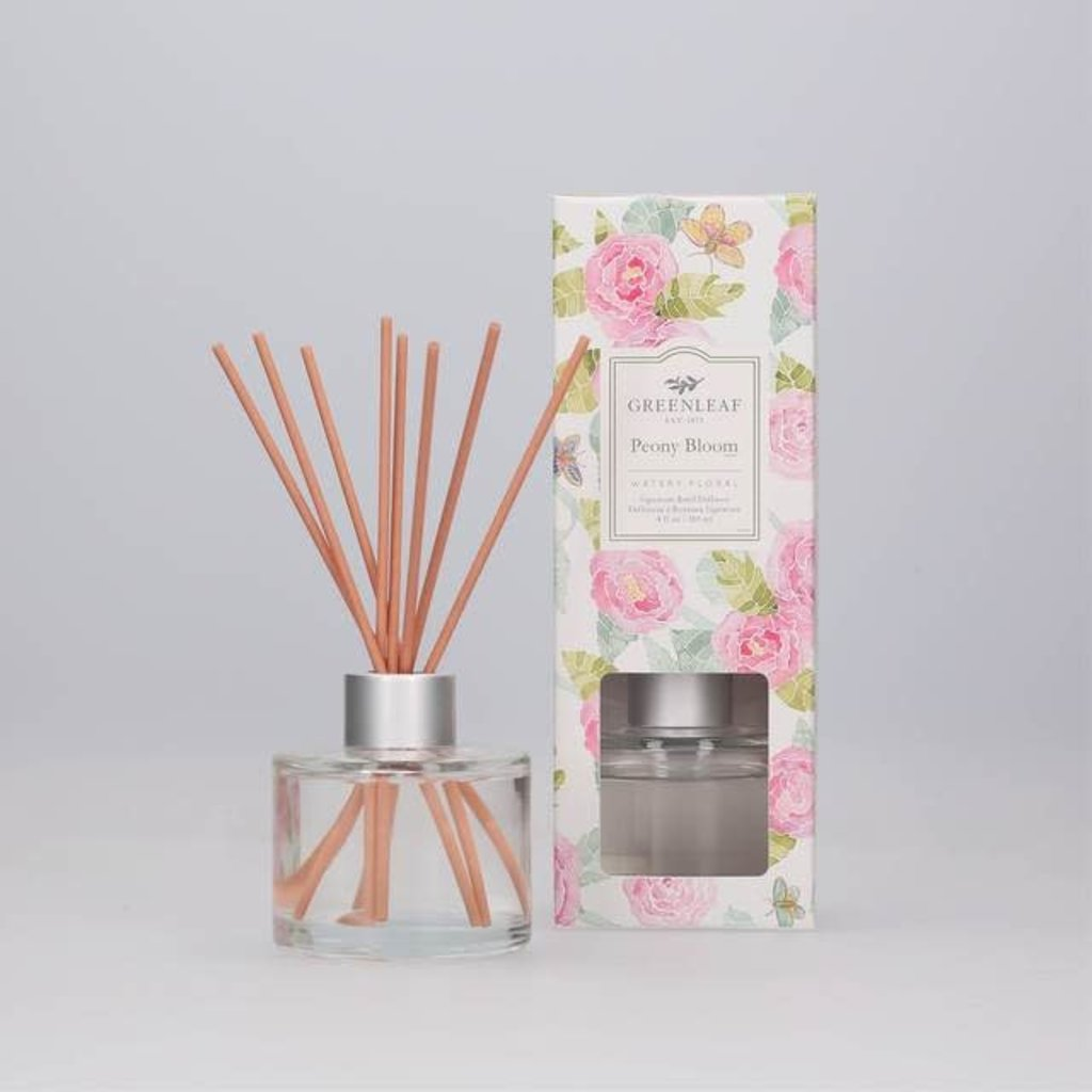 GREENLEAF GIFTS GL978532 SIGNATURE REED DIFFUSER PEONY BLOOM