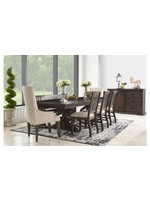 ELEMENTS STONE DINING TABLE CHARCOAL