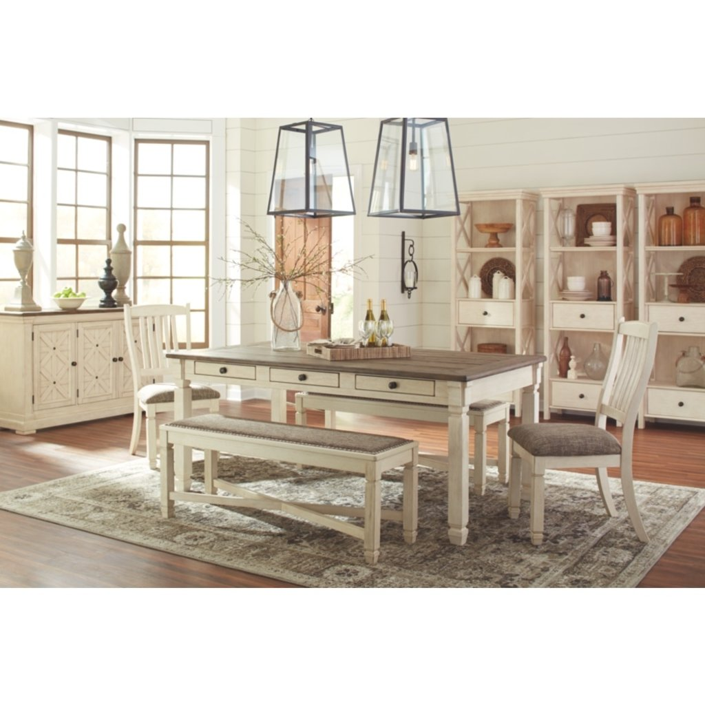 ASHLEY D647-25 DINING TABLE BOLANBURG TWO/TONE Standard