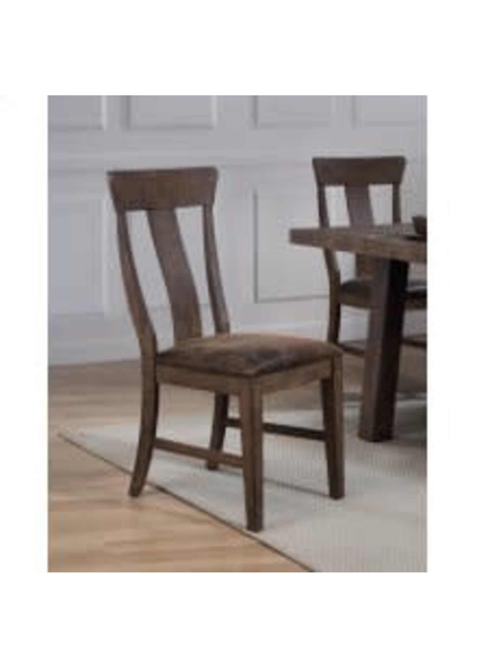 TENNESSEE ENTERPRISES TL001 SIDE CHAIR THE LOFT RUSTIC BROWN
