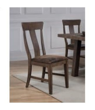TENNESSEE ENTERPRISES SIDE CHAIR THE LOFT RUSTIC BROWN