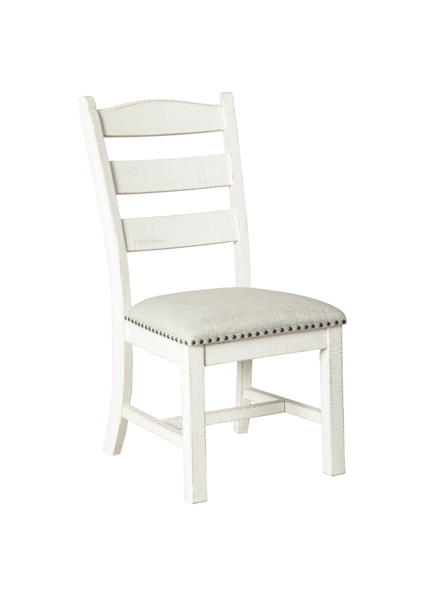 ASHLEY D546-01 DINING CHAIR VALEBECK BEIGE/WHITE