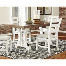 ASHLEY D546-35 DINING TABLE VALEBECK TWO TONE
