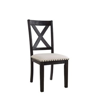 ELEMENTS DGS100WSC SIDE CHAIR GREYSTONE