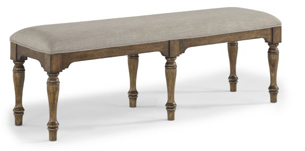 W1147-869 DINING BENCH PLYMOUTH BROWN