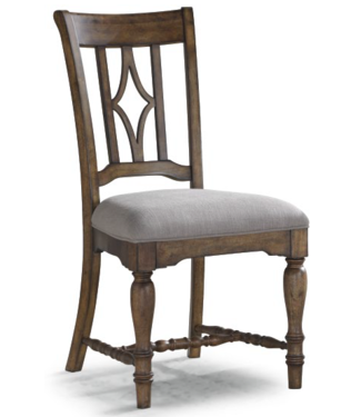 FLEXSTEEL PLYMOUTH DINING CHAIR BROWN