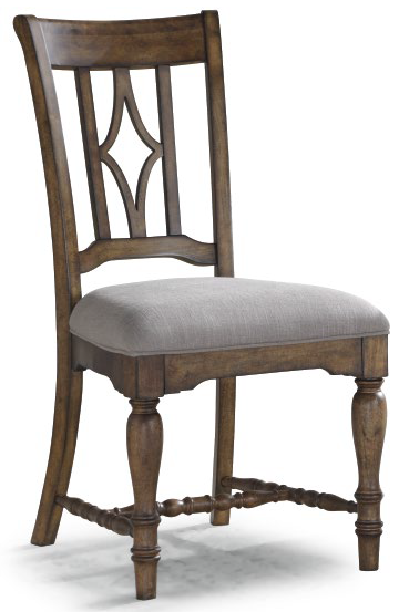 W1147-844 DINING CHAIR PLYMOUTH BROWN