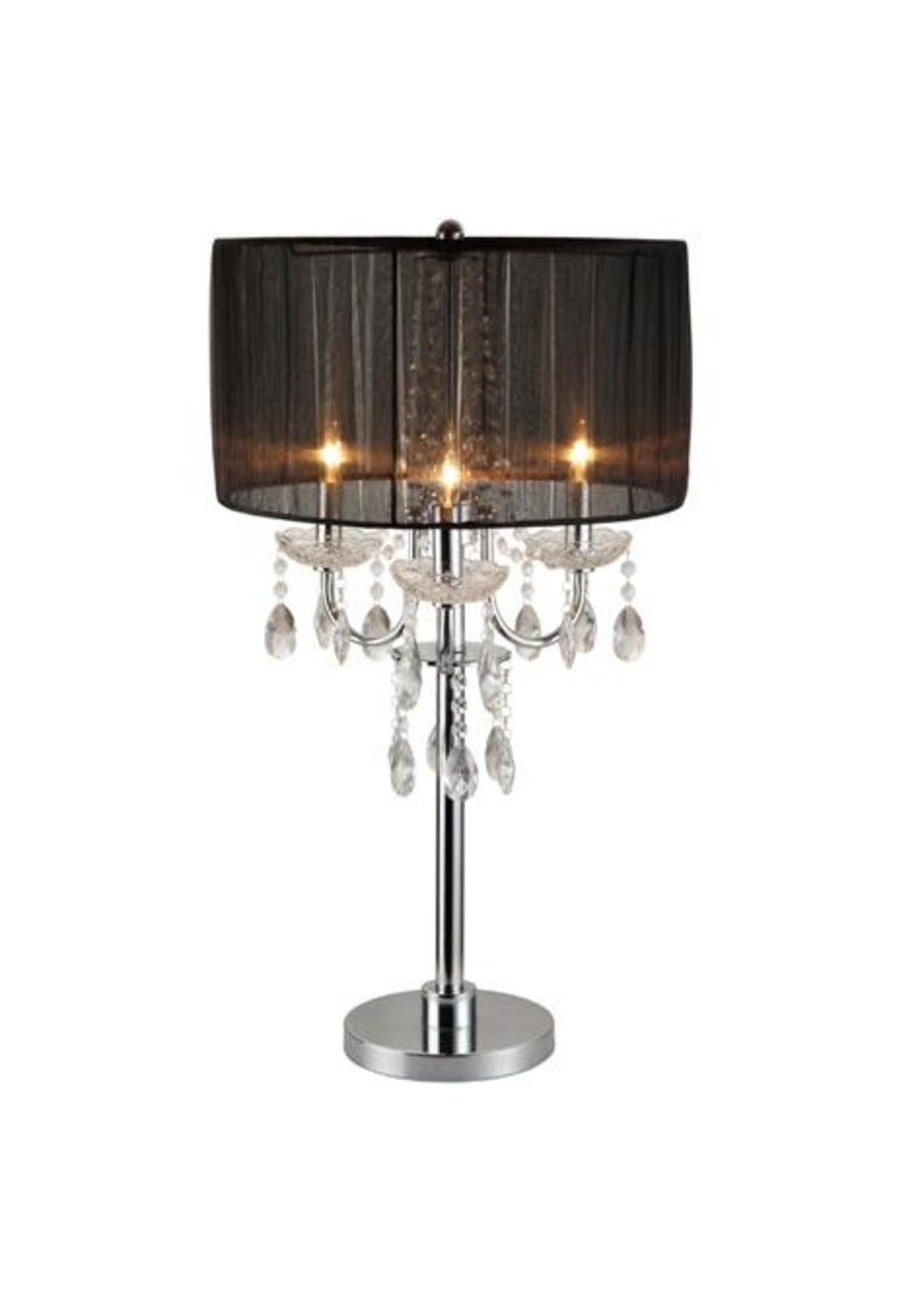 CROWNMARK CHANDELIER TABLE LAMP