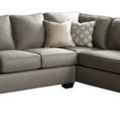 ASHLEY 9120217/66 RAF CHAISE SECTIONAL CALICHO CASHMERE