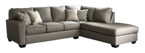 9120217/66 RAF CHAISE SECTIONAL CALICHO CASHMERE