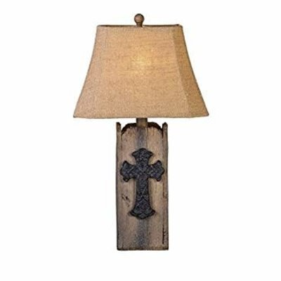 """VINTAGE DIRECT CL0910 LAMP CROSS AND WOOD 30"""""""