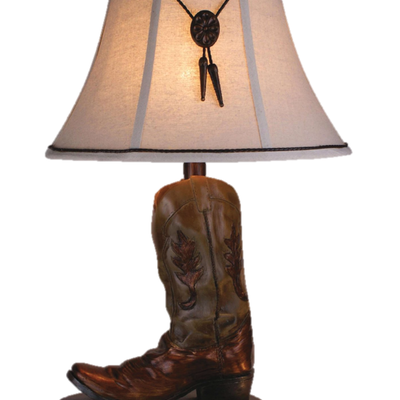 """VINTAGE DIRECT CL2393 TABLE LAMP BOOT 27.5"""""""