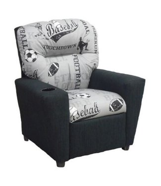 BRAZIL 401C PBSS CHILDS RECLINER POWELL BLACK/SPORTS STORM