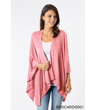 SIMPLY NOELLE CARDI ASSORTED COLORS WRAP