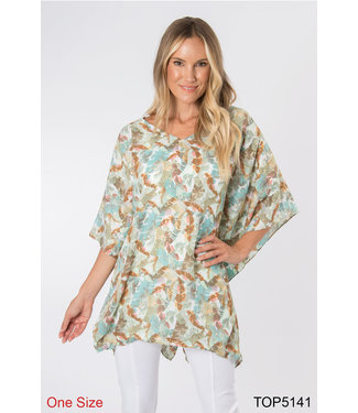SIMPLY NOELLE TUNIC IN ASSORTED COLORS