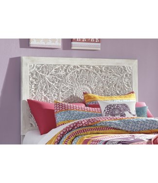 ASHLEY B181-53 3/3 HEADBOARD PAXBERRY WHITEWASH